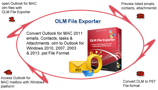 Download OLM File Exporter Software