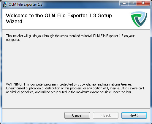 Welcome OLM File Exporter
